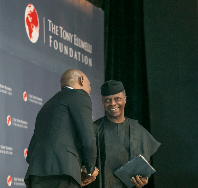 Vice President Osinbajo at Tony Elumelu Foundation Forum