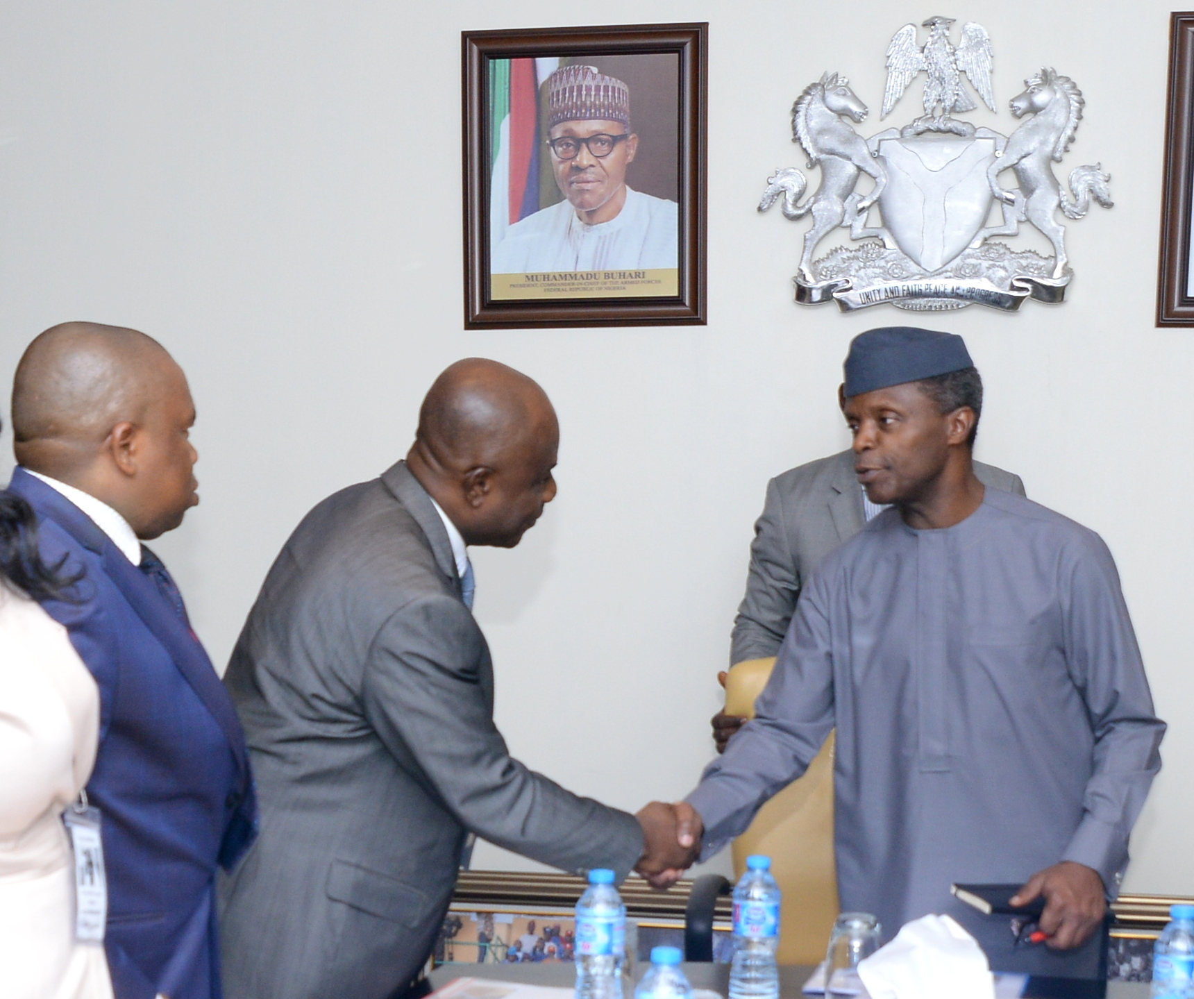 VP Osinbajo Meets With Chicason Group On 25/04/2016