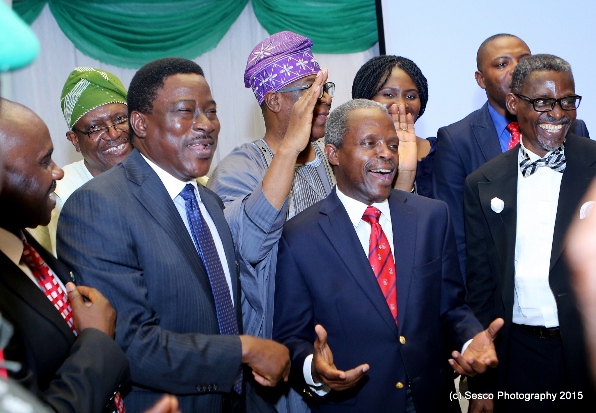 Faculty Of Law Unilag Honours Vice President Prof. Yemi Osinbajo, SAN On 14/08/2015