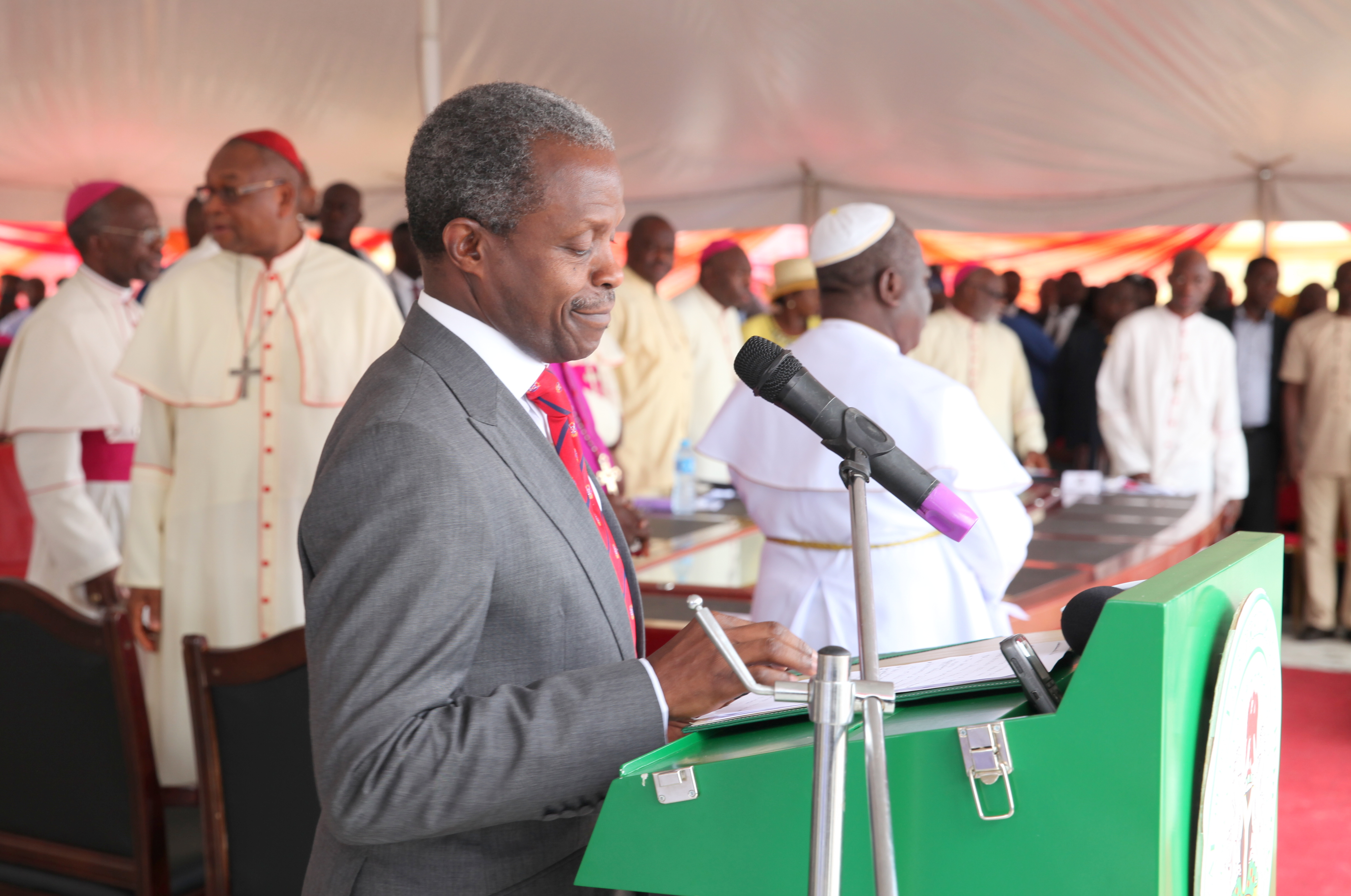 VP Osinbajo At The 2nd Plenary Assembly Of Catholic Bishops' Conference Of Nigeria (CBCN) Port Harcourt On 13/09/2015