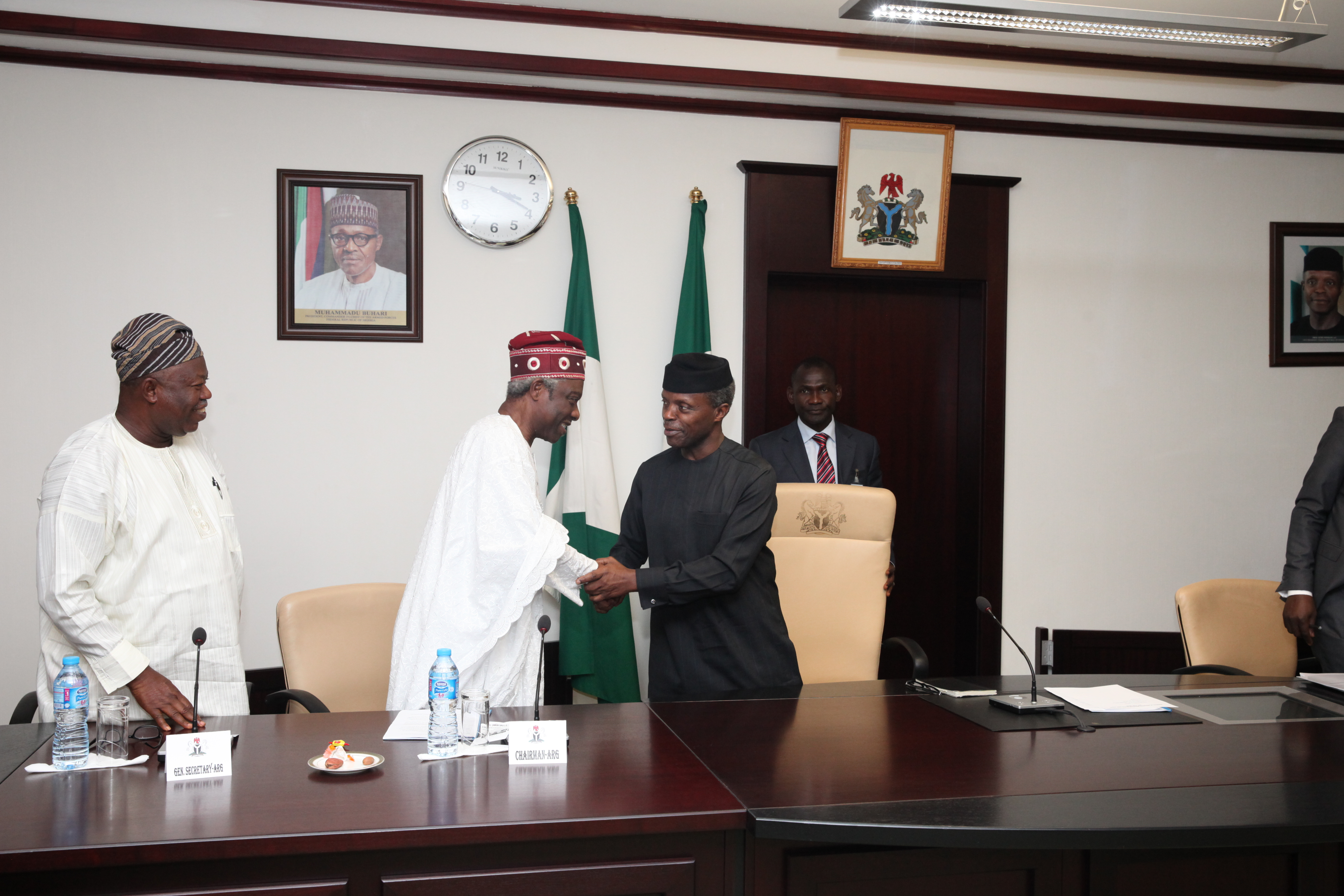 A Courtesy Call By Afenifere Renewal Group On 23/02/2016