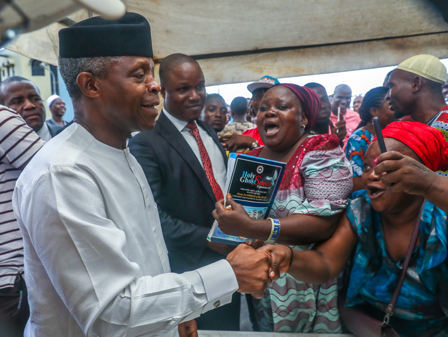 We Are Different Because We Are Not Thieves, Says VP Osinbajo At Lagos Ward Congress