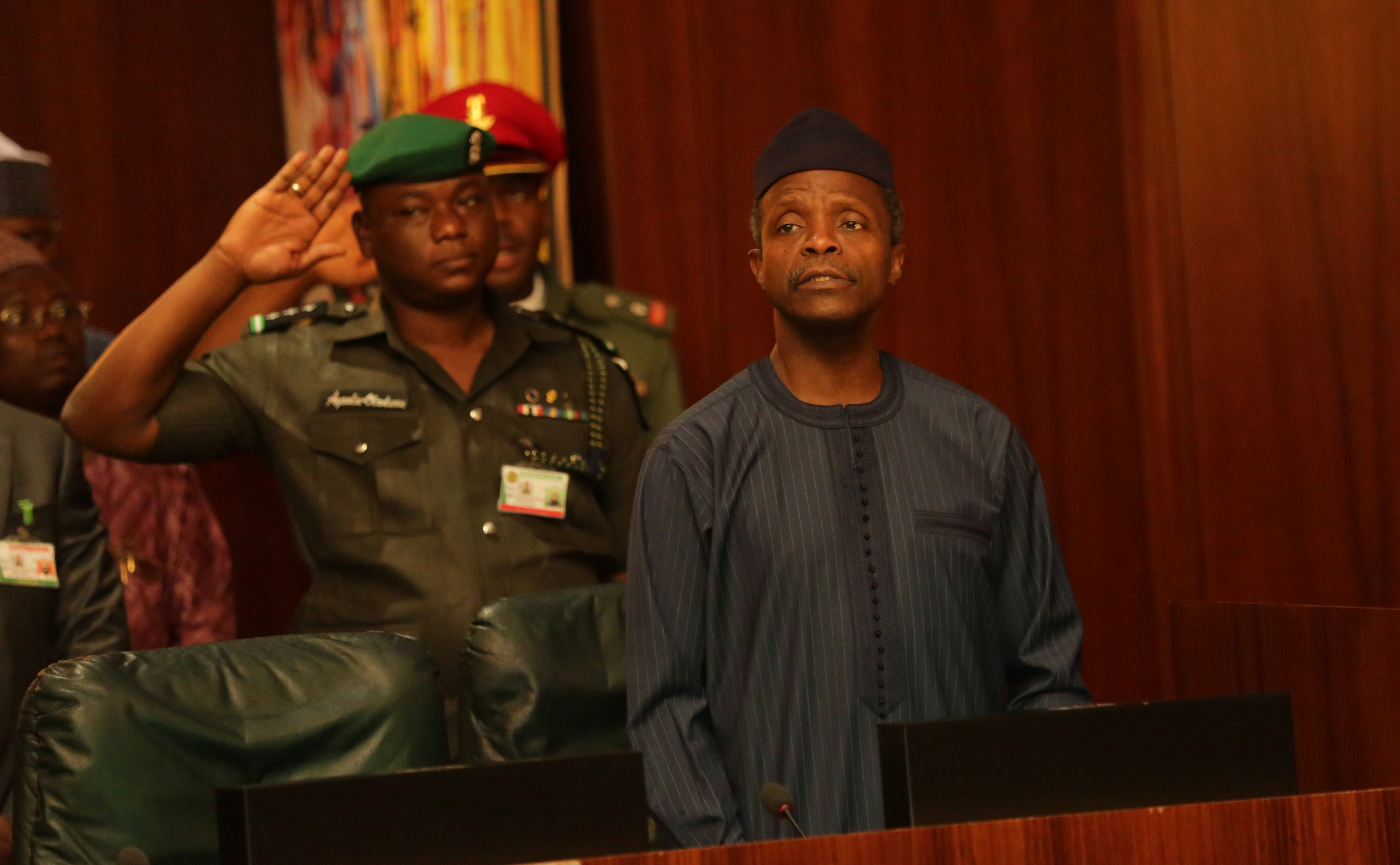 VP Osinbajo At The National Economic Council (NEC) Meeting On 23/06/2015