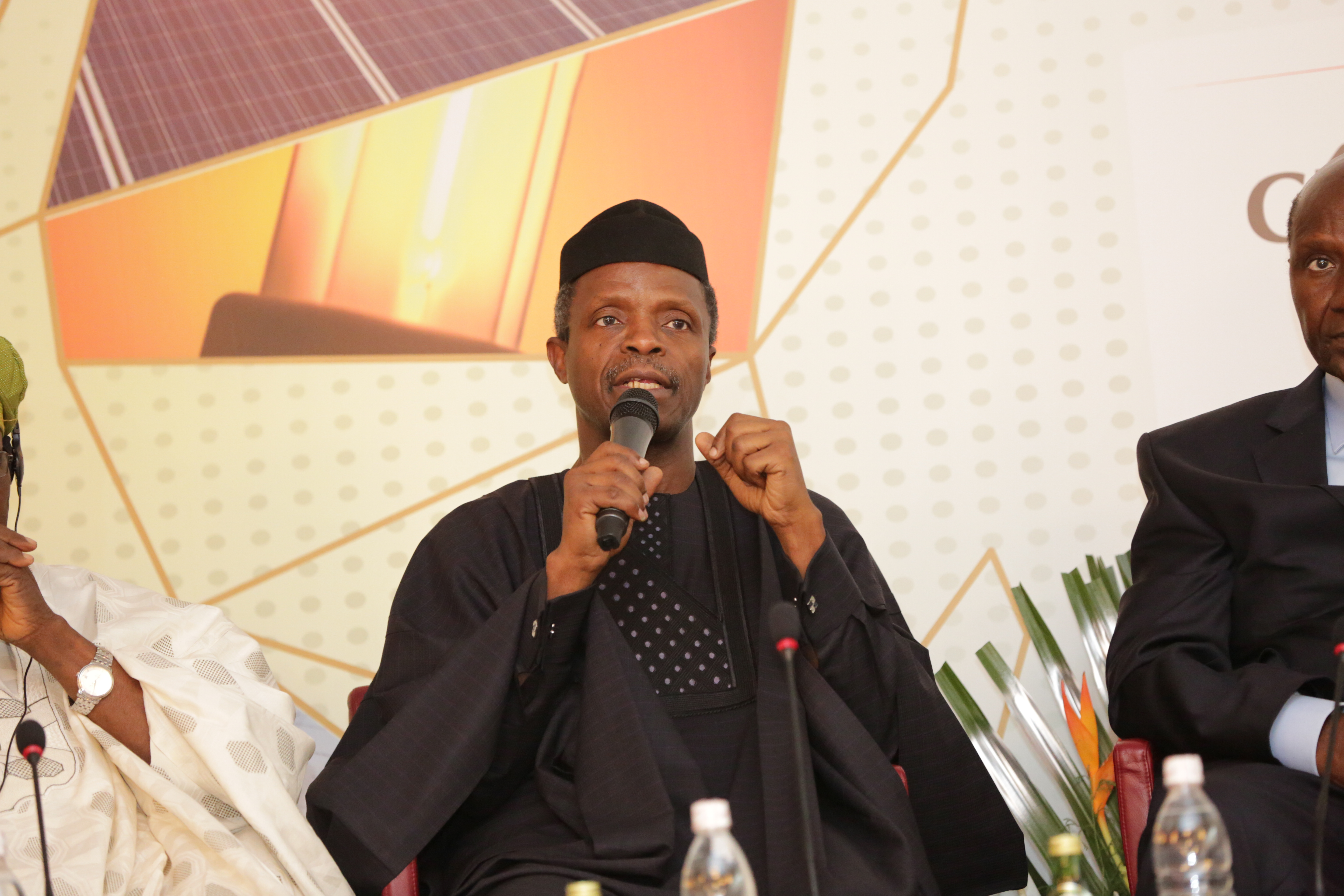 VP Osinbajo At The launch Of West Africa Energy Leaders Group In Abidjan, Cote D'Ivoire On 30/06/2015