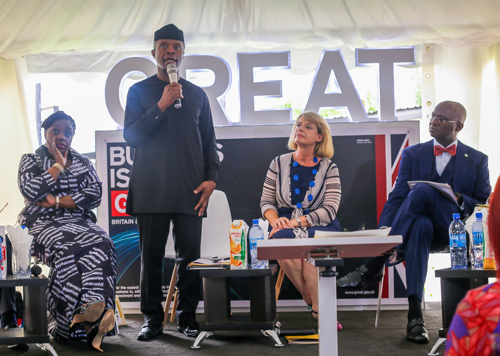 How Young Nigerians Opened Innovation Hubs, Start-Ups During Recession, By VP Osinbajo