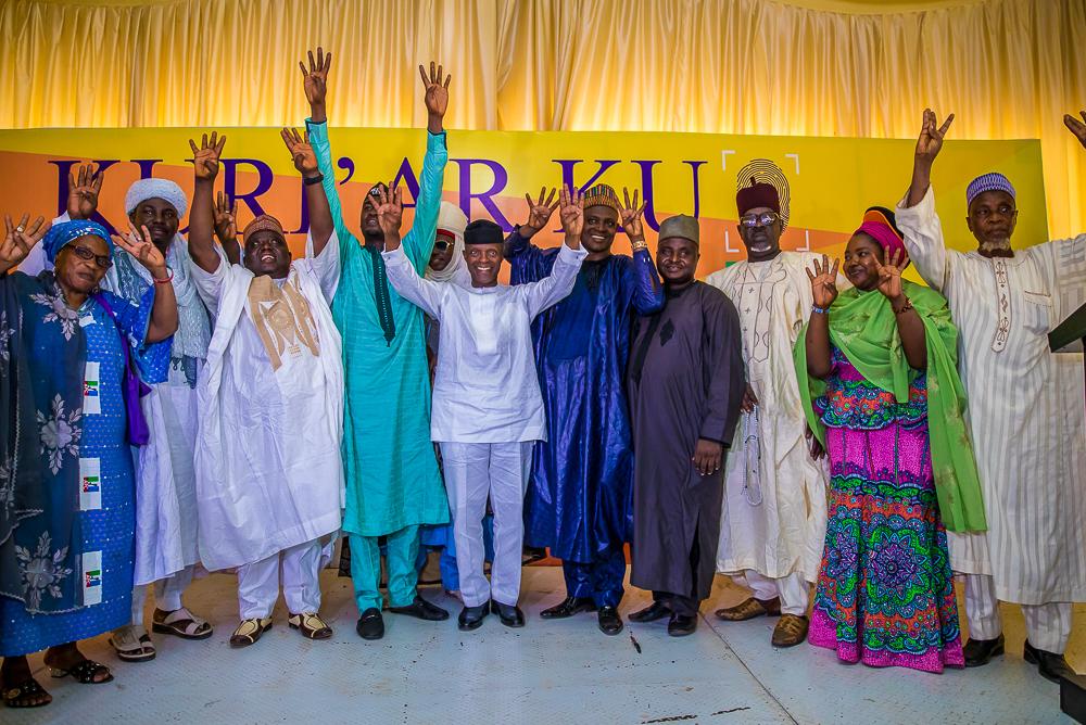 VP Osinbajo Interacts With Southwest Nigeria Arewa Community On 20/02/2019