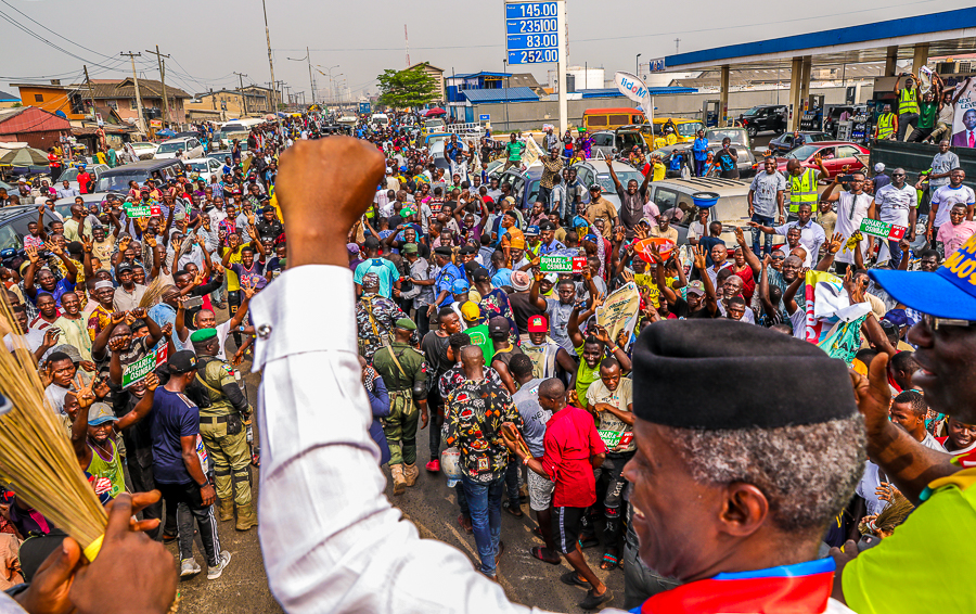 VP Osinbajo Continues Next Level Engagements In Badagry Town & Ajegunle On 13/02/2019