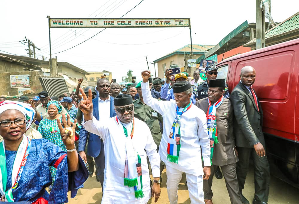 VP Osinbajo Continues Family Chats & Next Level Engagements In Mowe & Ibafo, Ogun State On 11/02/2019