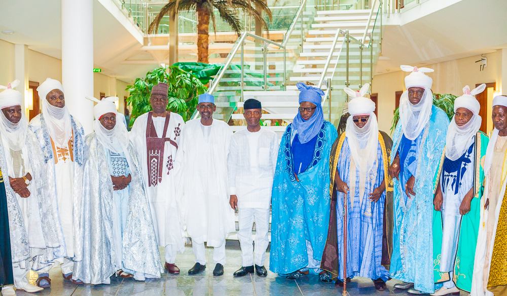 VP Osinbajo Receives FCT Gbagi Chiefs At The State House On 19/02/2019