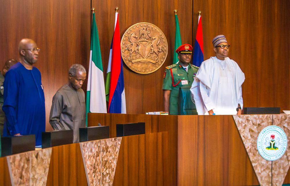 President Muhammadu Buhari Presides Over FEC Meeting On 20/03/2019