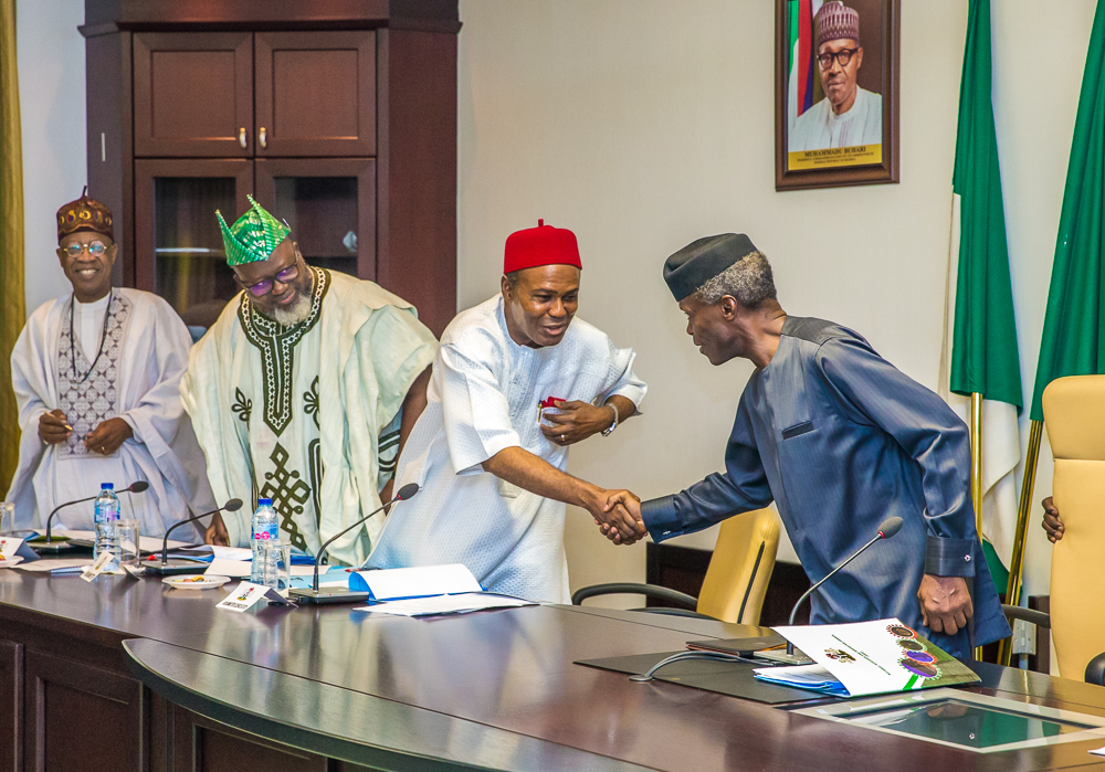 VP Osinbajo Presides Over National Research And Innovation Council Meeting On 25/03/2019