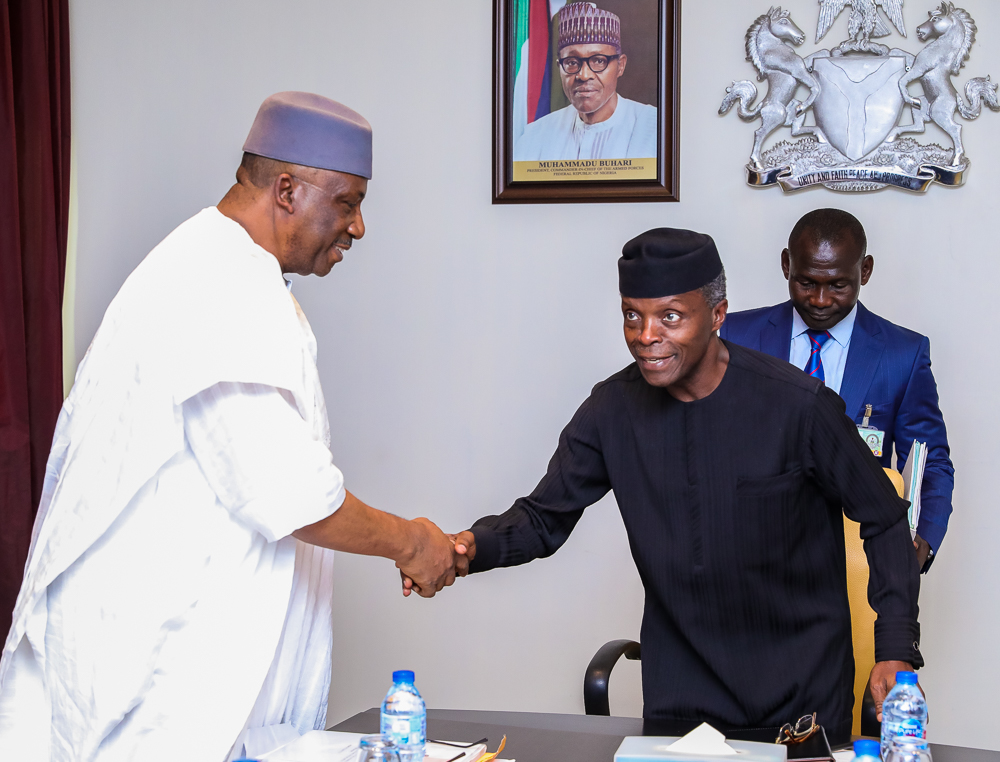 VP Osinbajo Presides Over National Public Security System Committee Review Meeting On 27/03/2019