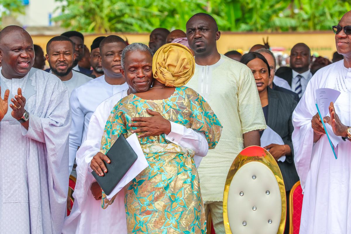VP Osinbajo & Wife Attend Interdenominational Thanksgiving Service In Ikenne, Ogun State On 24/03/2019