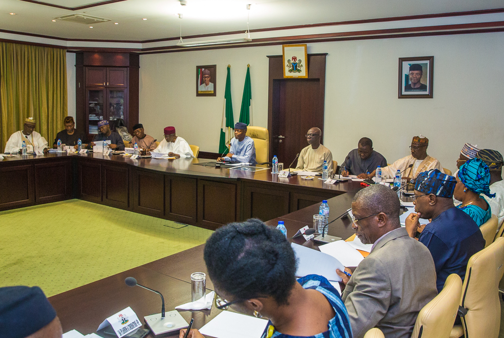 VP Osinbajo Inaugurates Presidential Policies, Programmes & Projects Audit Committee On 15/03/2019