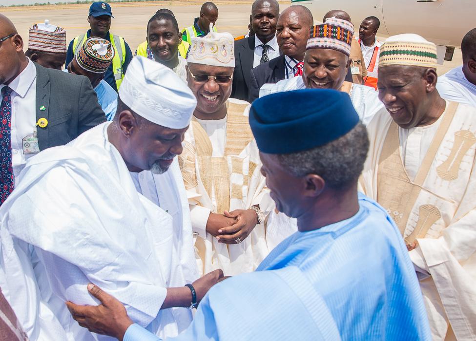 VP Osinbajo Attends Wedding Fatiha Of Daughter Of Hon. Farouk Adamu In Kano On 13/04/2019