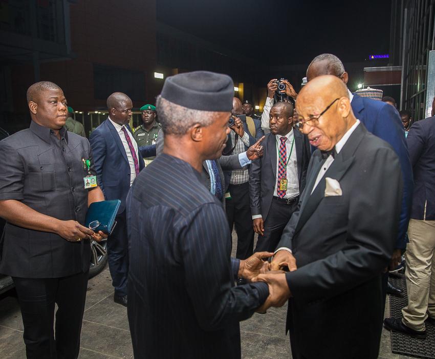 VP Osinbajo Attends 80th Birthday Celebration Of Mr. Pascal Dozie On 11/04/2019