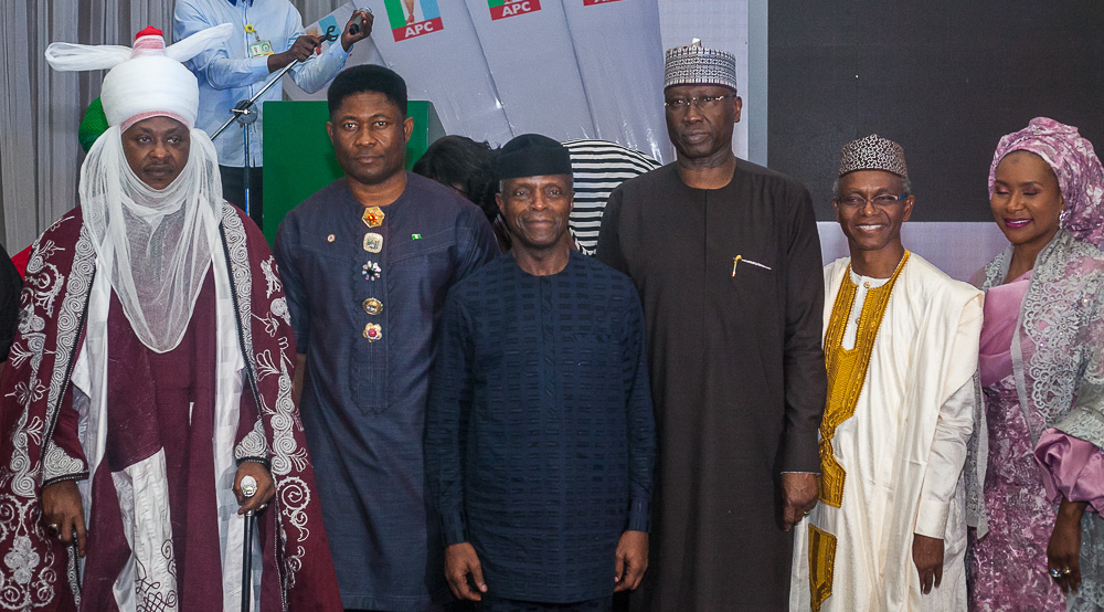 VP Attends 2019 Election Victory Celebration & Entertainment Dinner Organised By Kannywood On 06/04/2019
