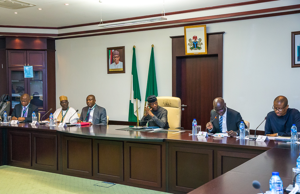 VP Osinbajo Meets With Nigeria SEZ Investment Company Limited & Strategic Partners On 22/05/2019