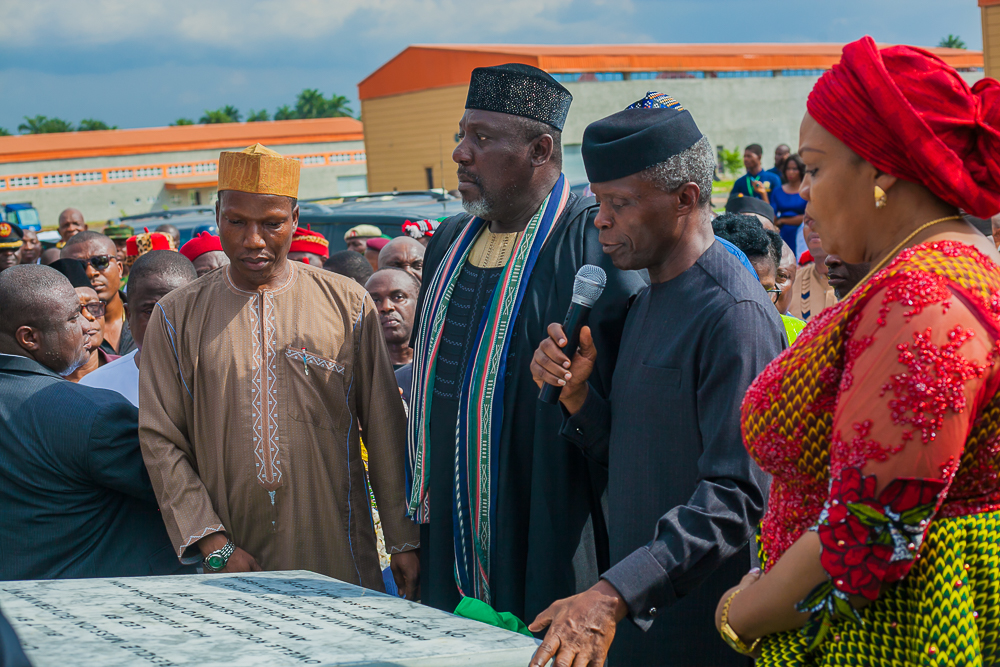 VP Osinbajo In Imo For Commissioning Of More Projects In The State On 23/05/2019