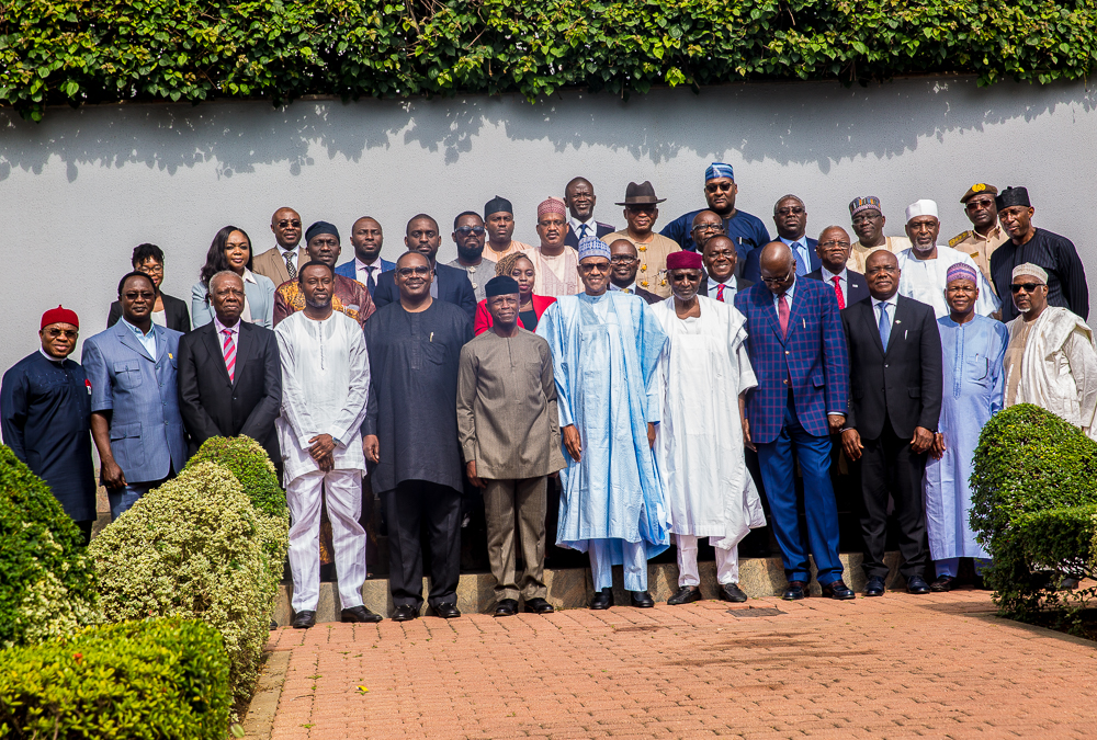 PMB Receives Report Of The Presidential Committee On AfCFTA On 27/06/2019