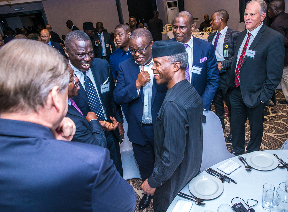 VP Osinbajo Interacts With Harvard Professors In Lagos On 18/06/2019