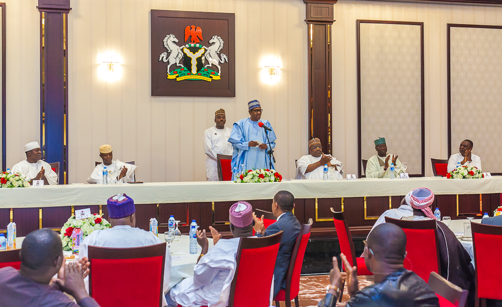 VP Osinbajo Pays Homage To President Buhari Commemorating The Eid-El-Fitr Celebration On 04/06/2019