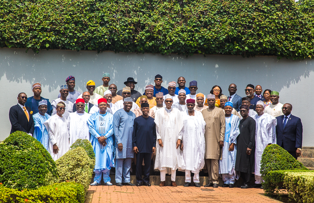 President Buhari Inaugurates National Economic Council On 20/06/2019