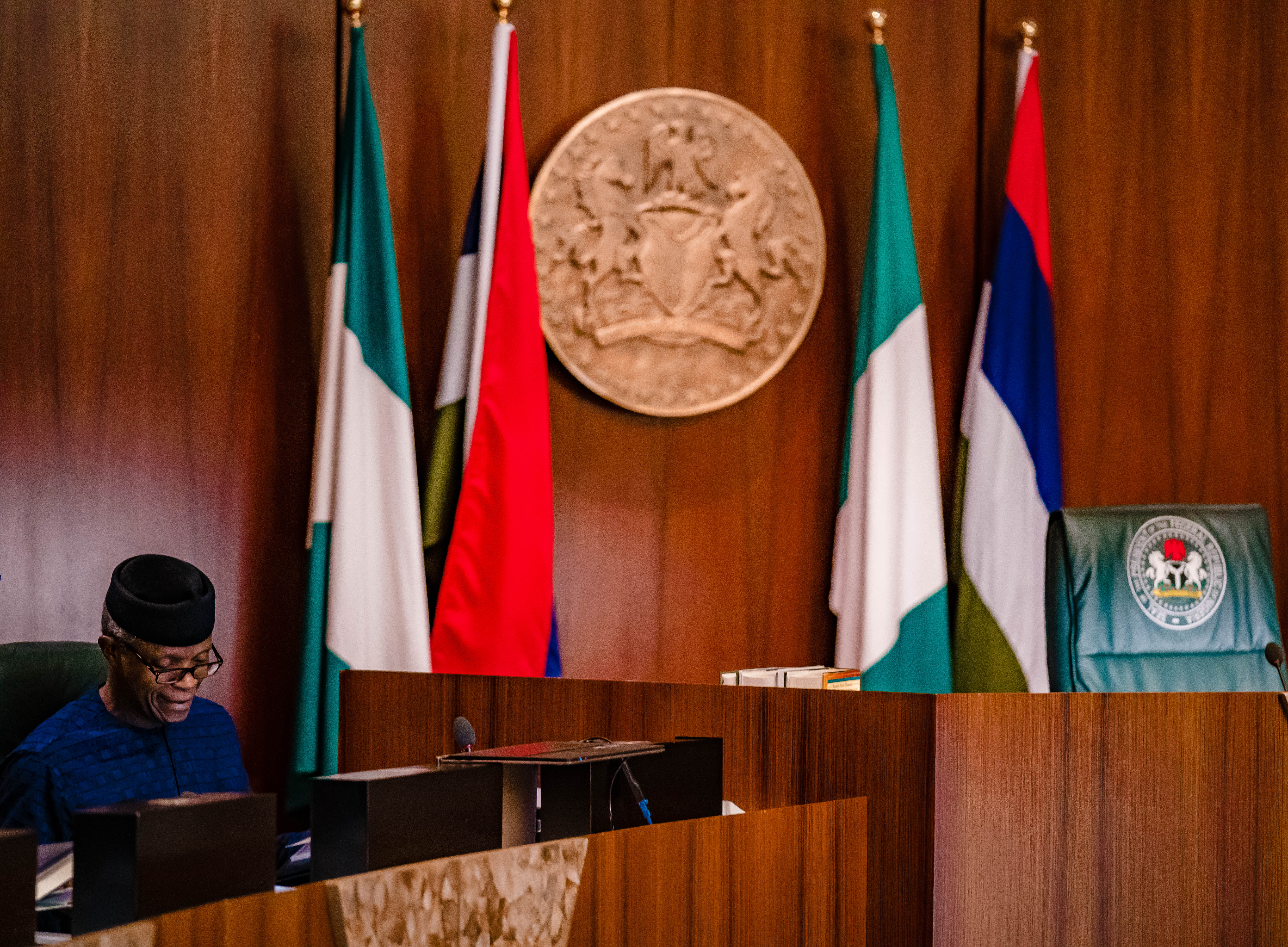 VP Osinbajo Presides Over National Economic Council On 22/08/2019