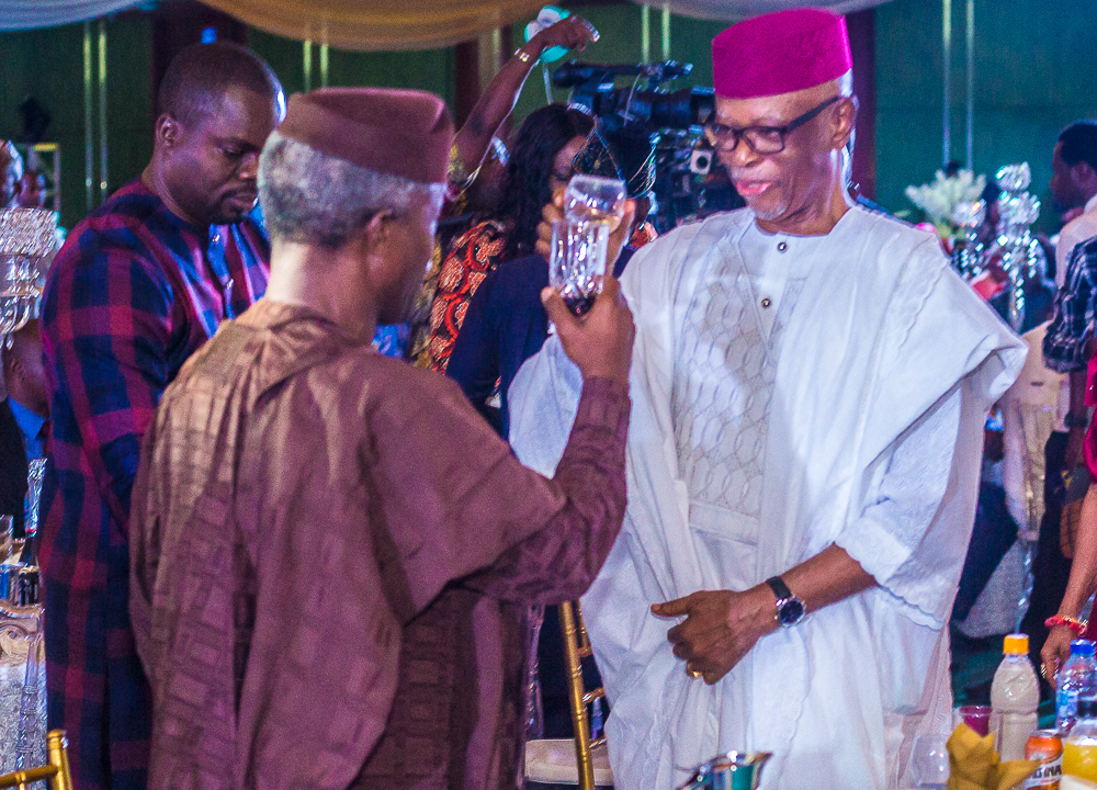 VP Osinbajo Attends Chief Oyegun's 80th Birthday Event On 17/08/2019