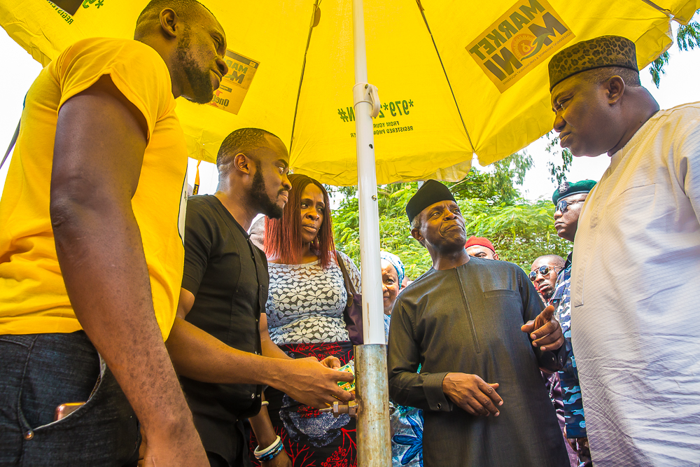 VP Osinbajo Visits Enugu To Assess Progress Of TraderMoni & MarketMoni On 16/08/2019