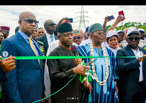 VP Osinbajo In Ogun State For Commissioning Of NDPHC Power Substation & Transmission Lines On 15/08/2019