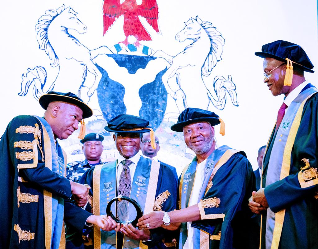VP Remarks At The 6th Convocation Ceremony Of Baze University