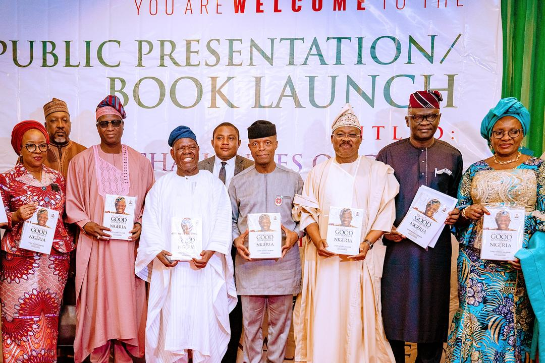 VP Osinbajo Attends Public Presentation & Book Launch In Honour Of Chief Bisi Akande On 12/11/2019