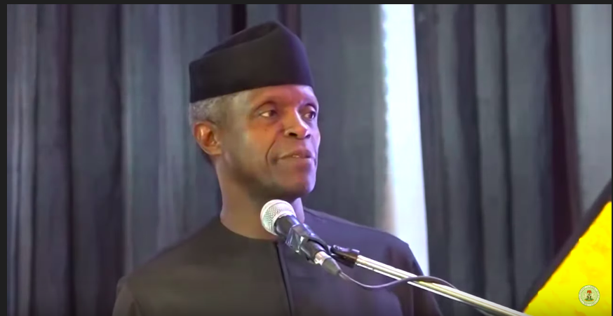 Osinbajo at the Presidential Appreciation Dinner for Media