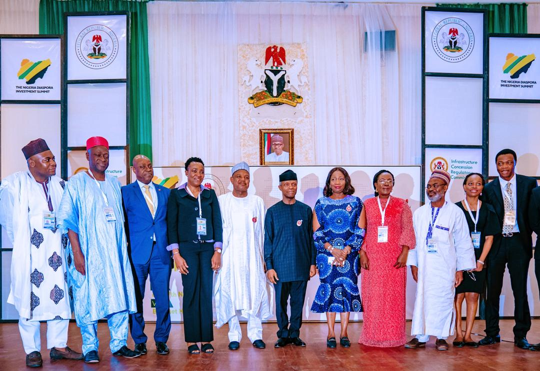 VP Osinbajo Attends 2nd Nigerian Diaspora Investment Summit On 07/11/2019