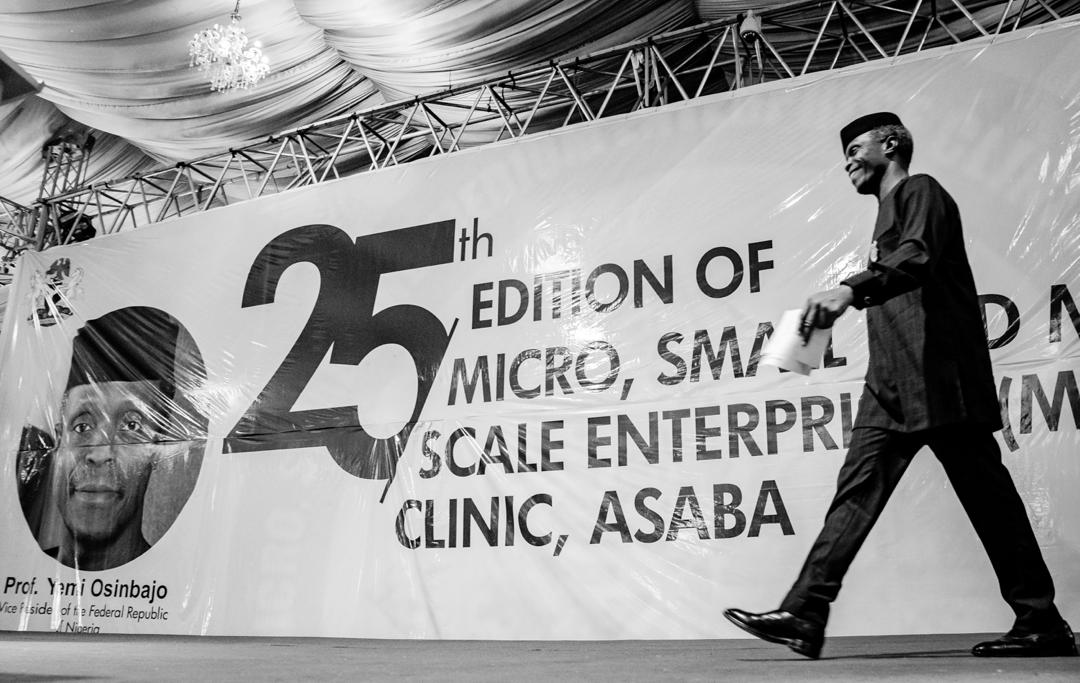 VP Osinbajo Attends 25th Edition Of MSME Clinic In Delta State On 07/11/2019