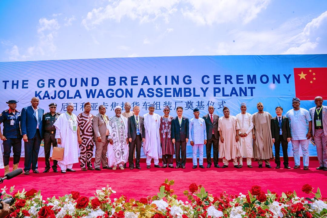 Official Groundbreaking Ceremony Of Wagon Assembly Plant