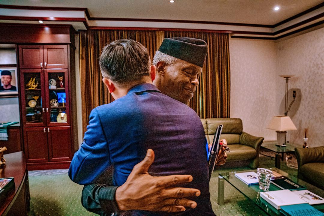 VP Osinbajo Receives Alibaba Chairman And Co-Founder, Jack Ma On 14/11/2019