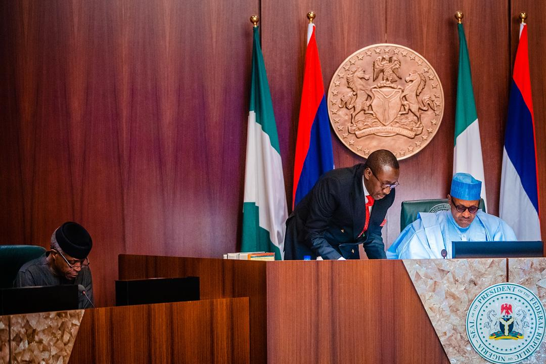 President Buhari Presides Over National Security Council Meeting On 30/01/2020