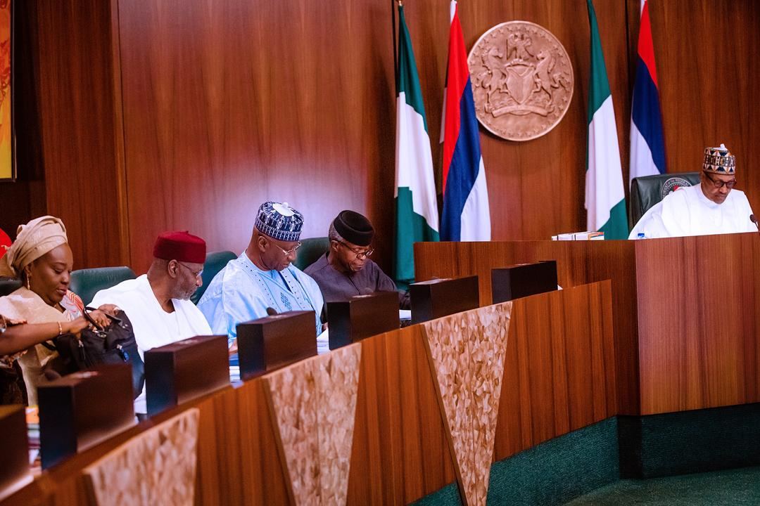 VP Osinbajo Attends Federal Executive Council Meeting On 29/01/2020