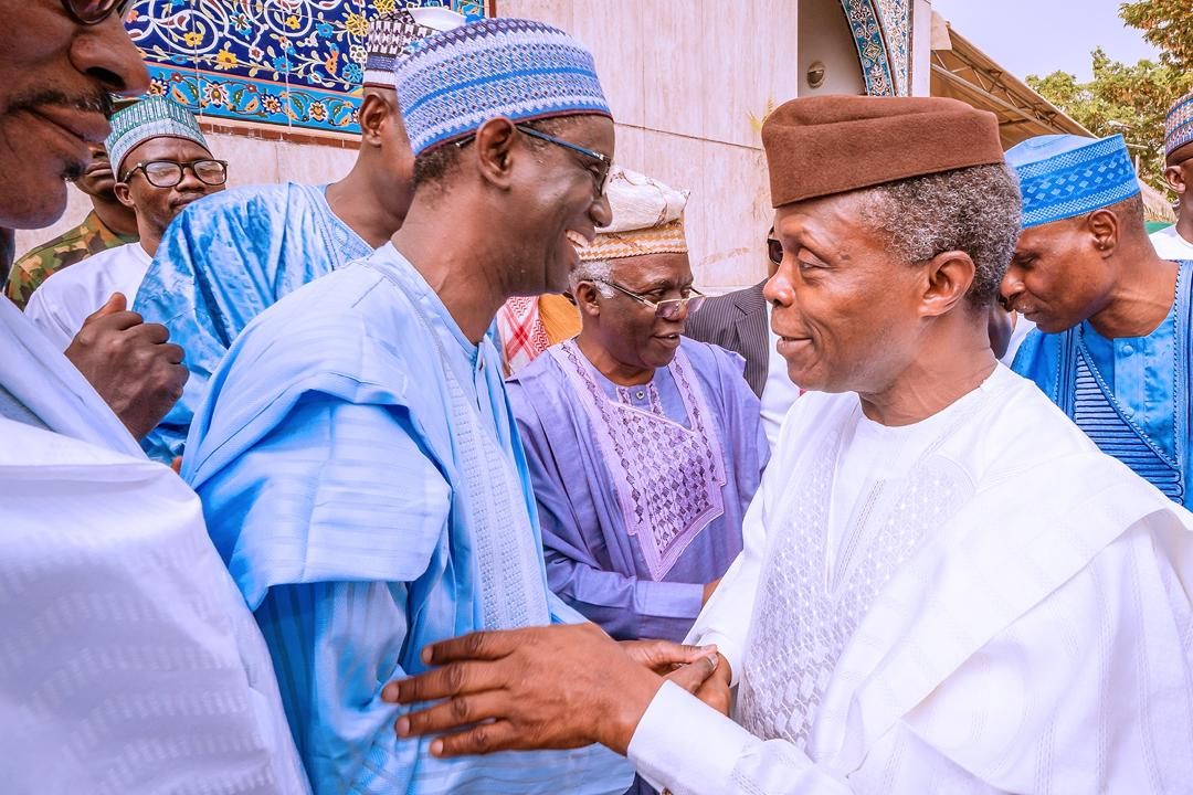 VP Osinbajo Attends Wedding Fatiha Of Amina Aliyu Ismaila & Mahmud Nuhu Ribadu On 11/01/2020