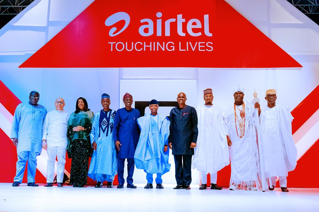 """VP Osinbajo Attends 5th Anniversary Of Airtel """"Touching Lives"""" Initiative On 25/01/2020"""