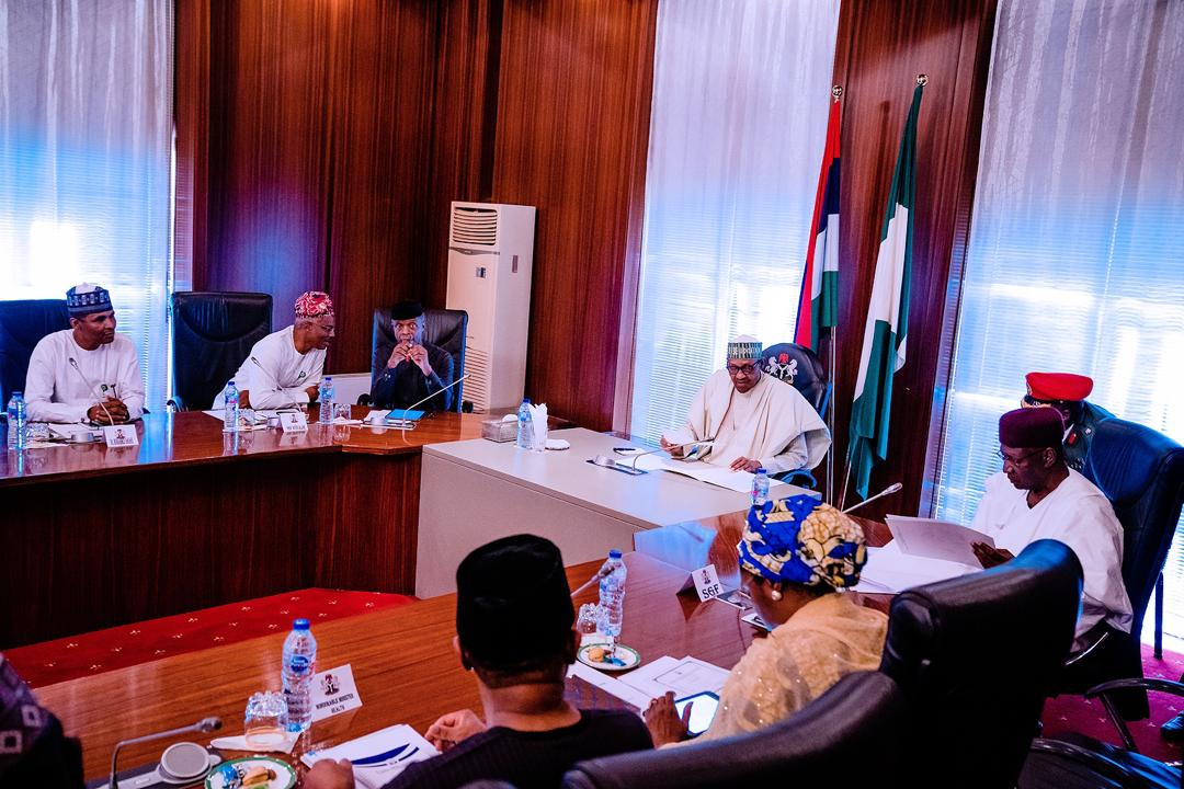 VP Osinbajo Attends The Economic Advisory Council Meeting Presided By President Buhari On 17/03/2020