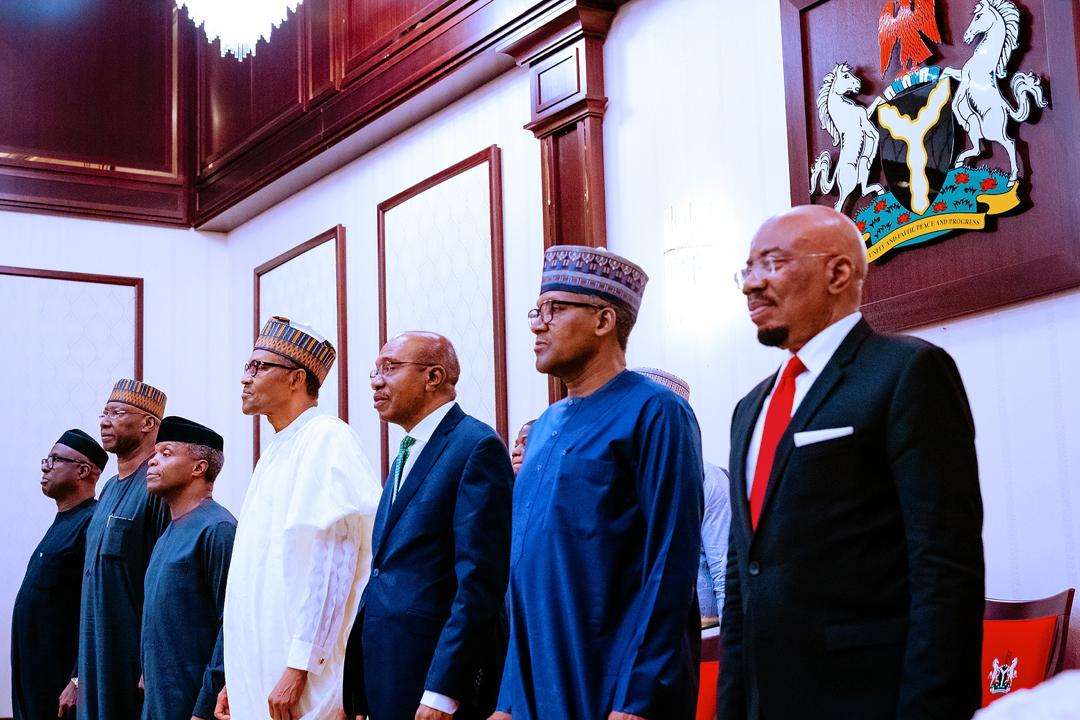 VP Osinbajo Attends Dinner Organised By President Buhari, Hosting High Level Participants Of 'Going for Growth Round Table', Organised By CBN On 11/03/2020