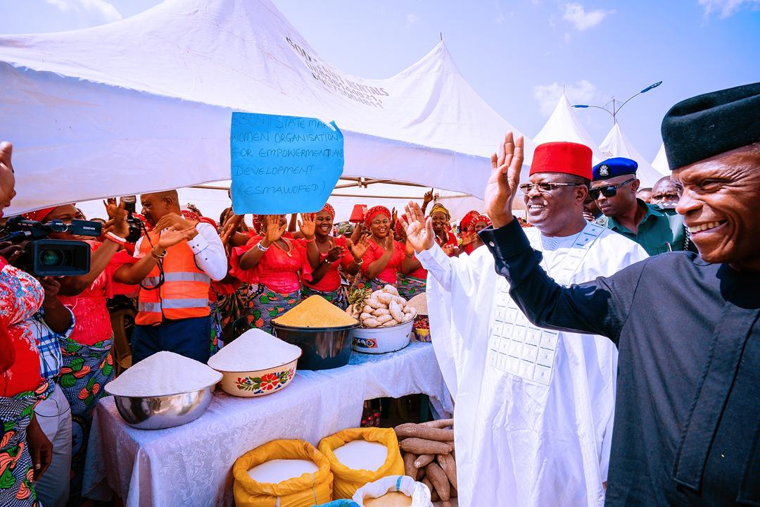 VP's Remarks At The Nationwide MSME Clinic In Ebonyi State