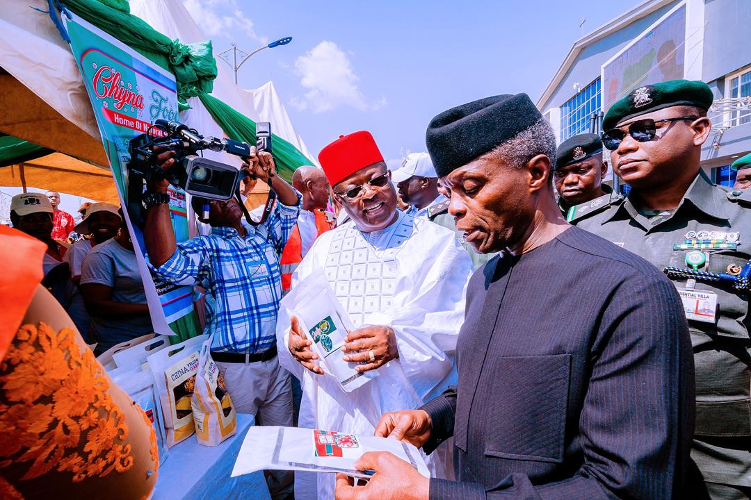 VP Osinbajo In Ebonyi State For The Nationwide MSMEs Clinics On 05/03/2020