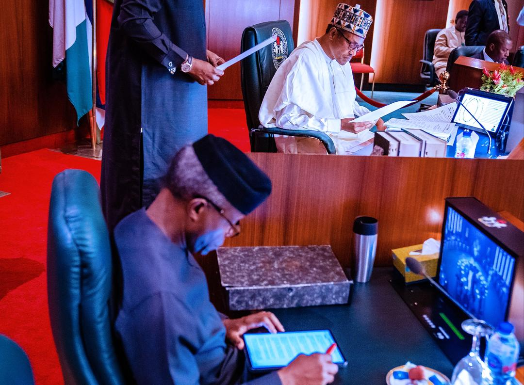 President Buhari Presides Over Federal Executive Council Meeting On 11/03/2020