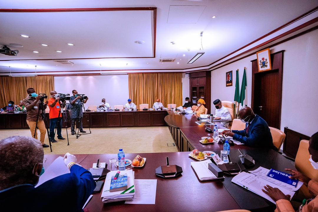 VP Osinbajo Chairs Economic Sustainability Committee Meeting On 16/04/2020