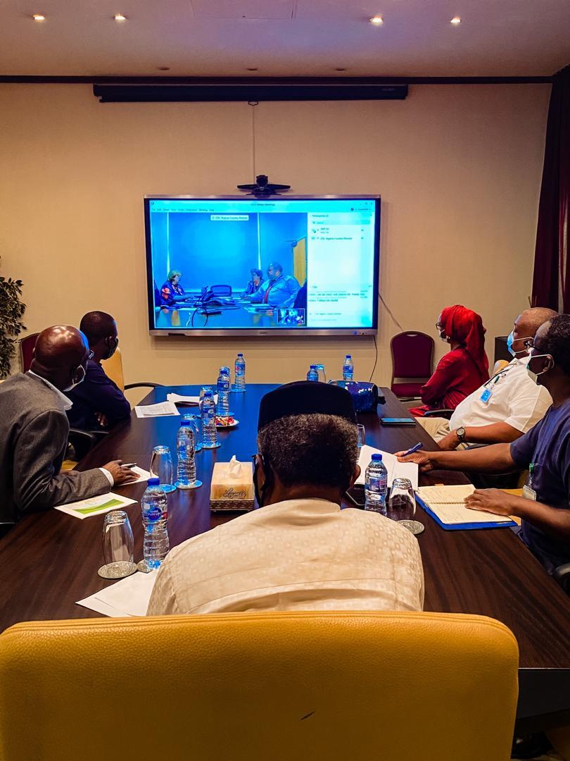 VP Osinbajo Meets With IMF & World Bank Representatives Regarding FG's Post Covid-19 Economic Stimulus On 21/04/2020
