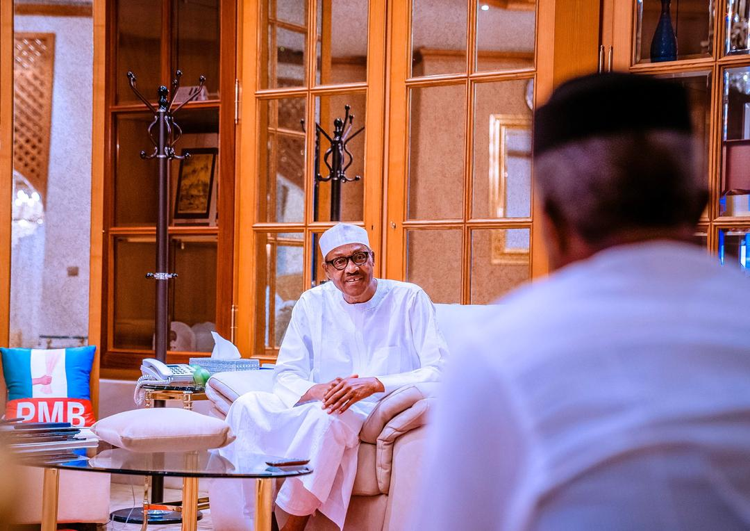 VP Osinbajo Gives Update Of Economic Sustainability Committee Meeting To President Buhari On 10/04/2020